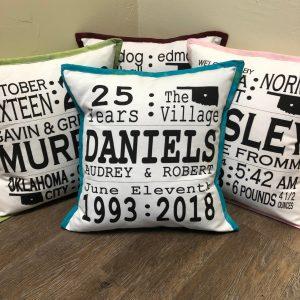 pillow anniversary